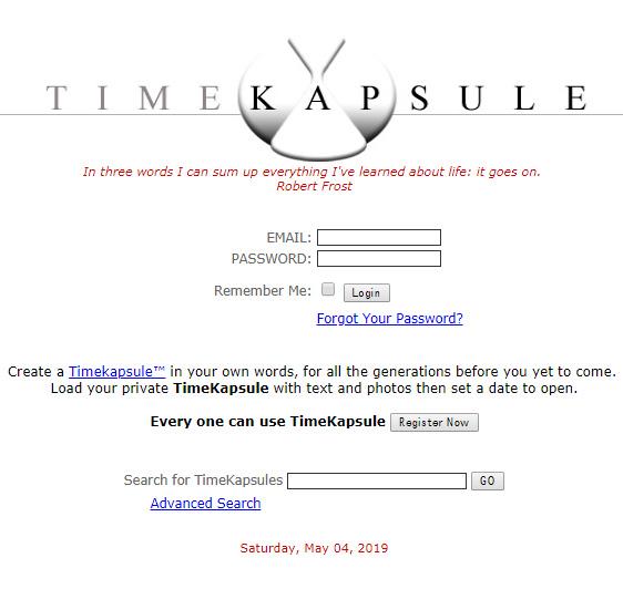 Timekapsule