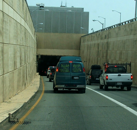 EZ Pass commercials Portsmouth tunnel toll
